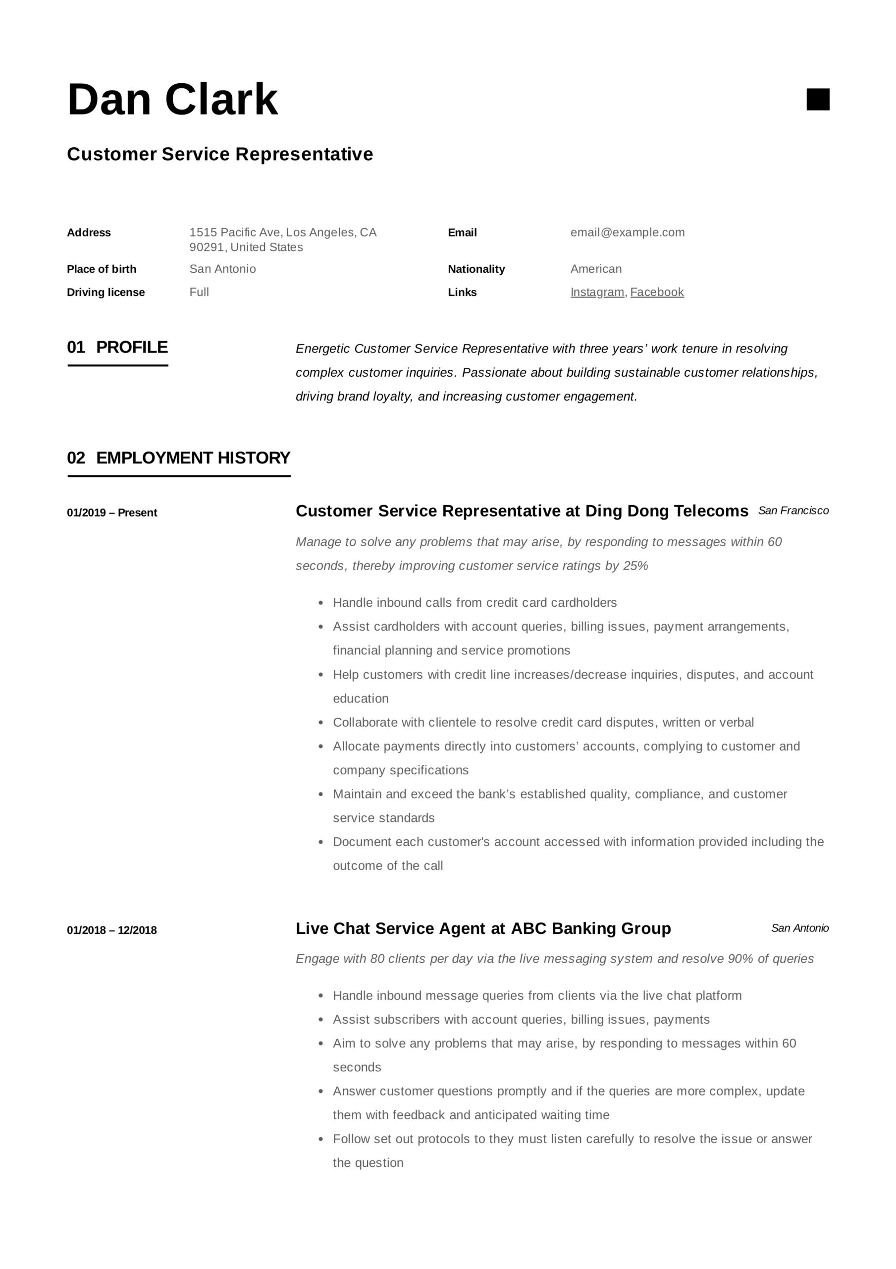 to customer service representative resume pdf samples writing for jobs functional edit on Resume Resume Writing For Customer Service Jobs