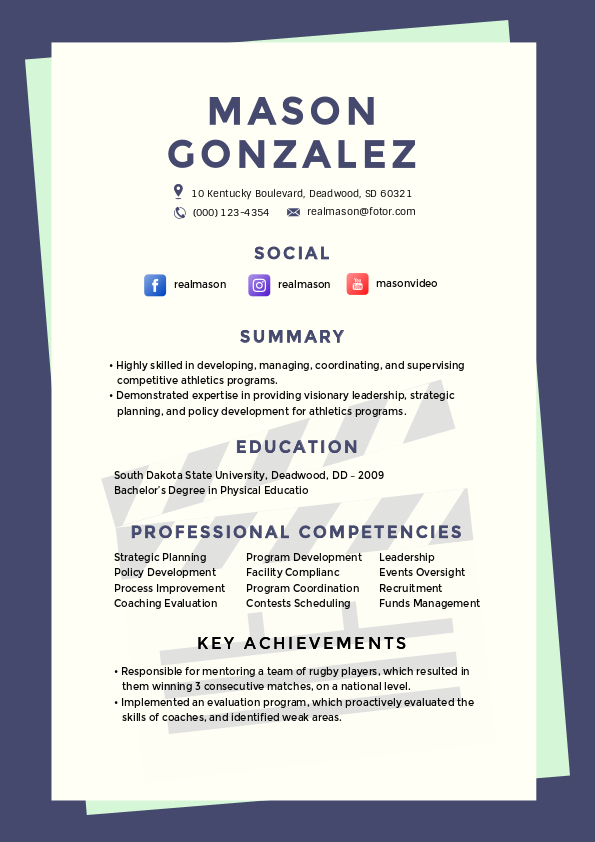 to make resume in minutes fotor blog untitled design android developer fine dining Resume To Make A Resume
