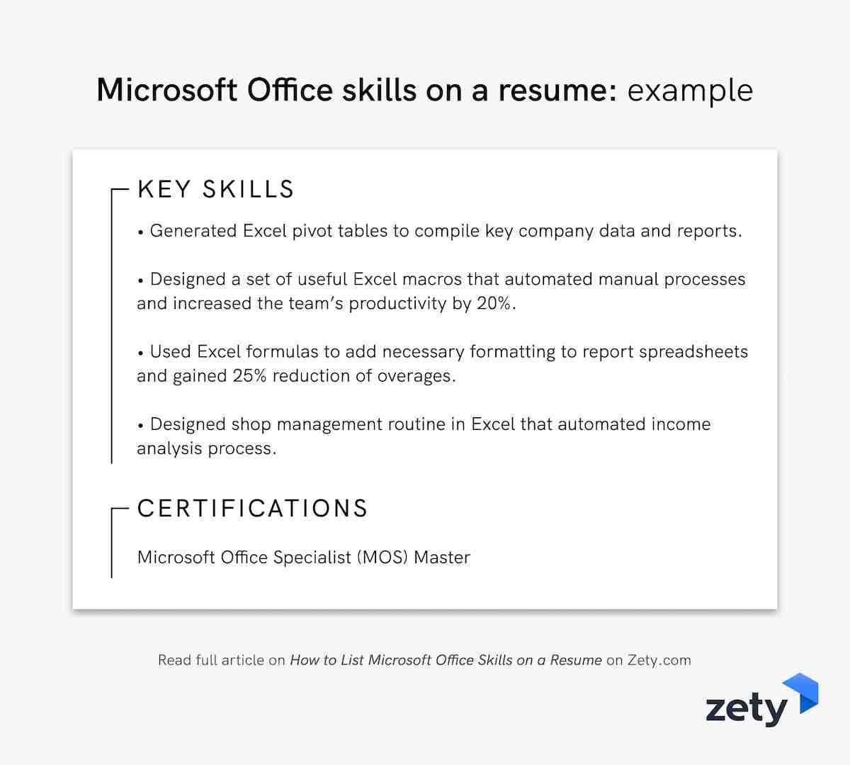 to microsoft office skills on resume in example other section abbreviate months parse Resume Microsoft Office Skills Resume