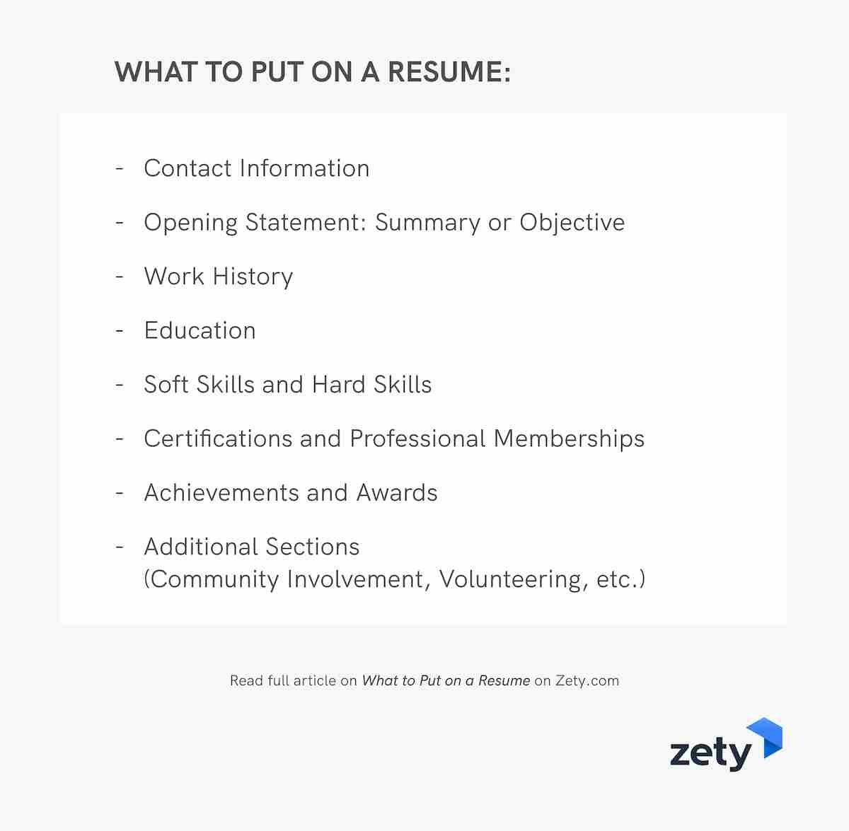 to put on resume good things you should include must have font size clinical project Resume Things A Resume Must Have