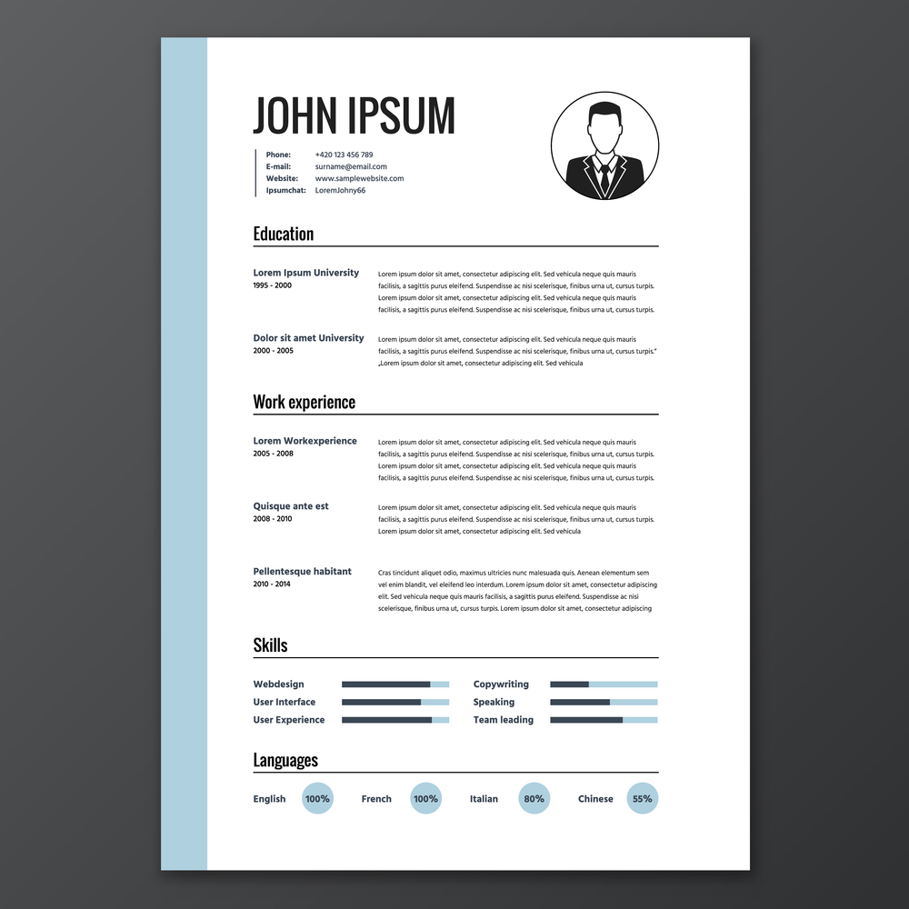 to uber and lyft your resume for driver 1resume20example20vector20career20rsg signature Resume Resume For Uber Driver