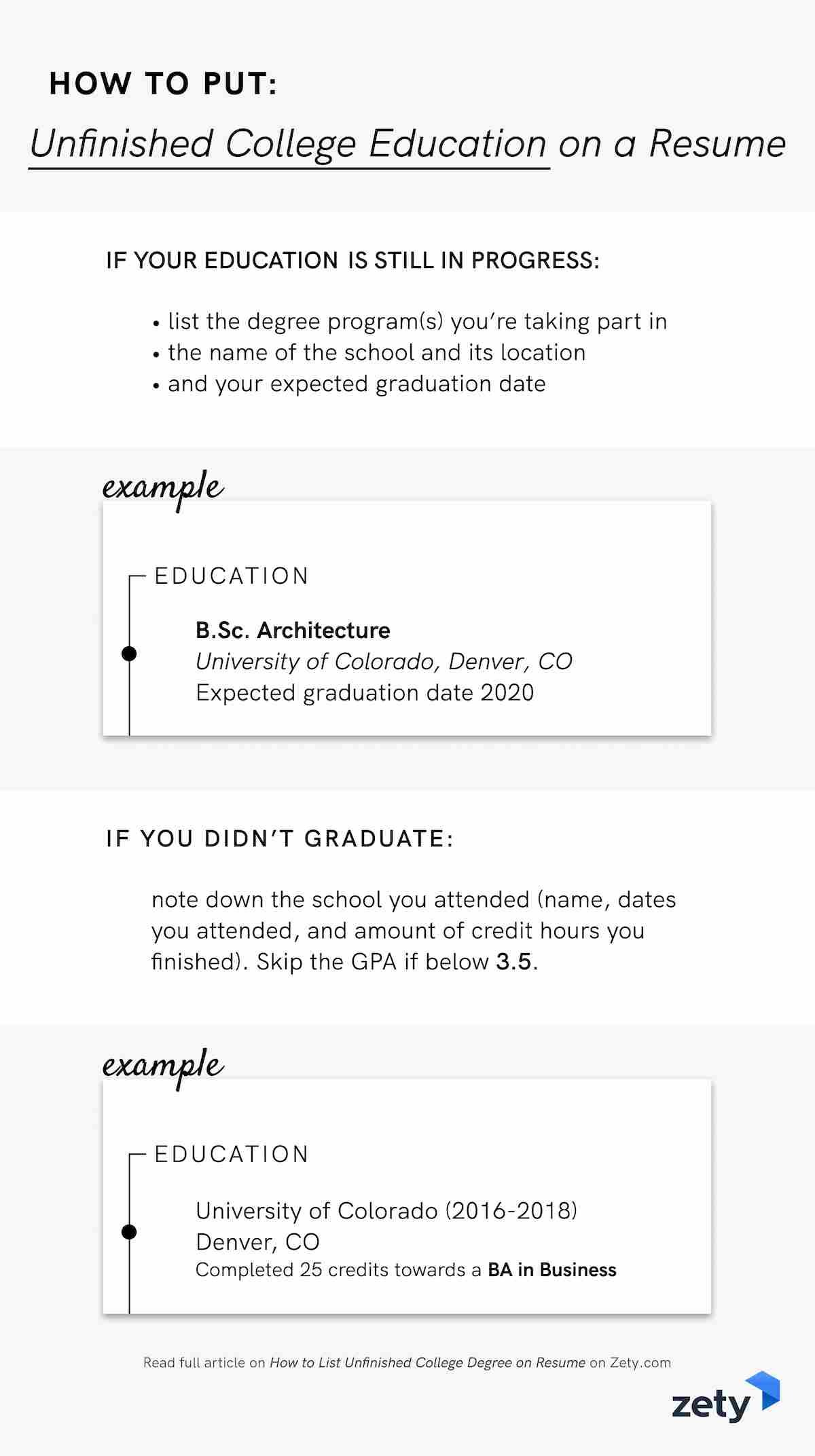 to unfinished college degree on resume examples template no education instrumentation and Resume Resume Template No College Education