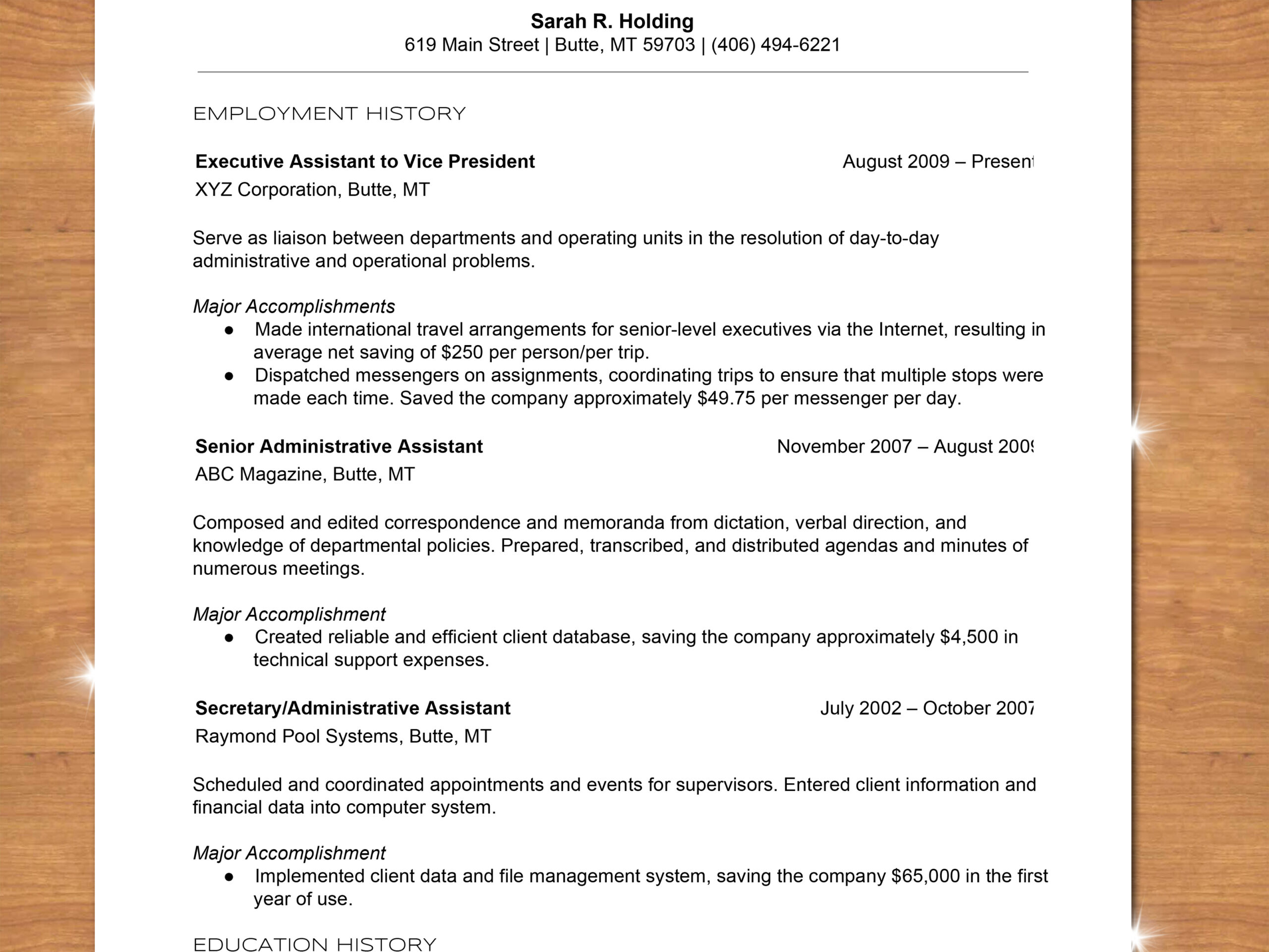to write chronological resume with sample type up step best job examples special skills Resume Type Up A Resume
