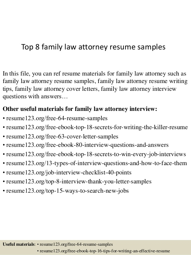 top family law attorney resume samples create your own template word dance instructor Resume Family Law Attorney Resume
