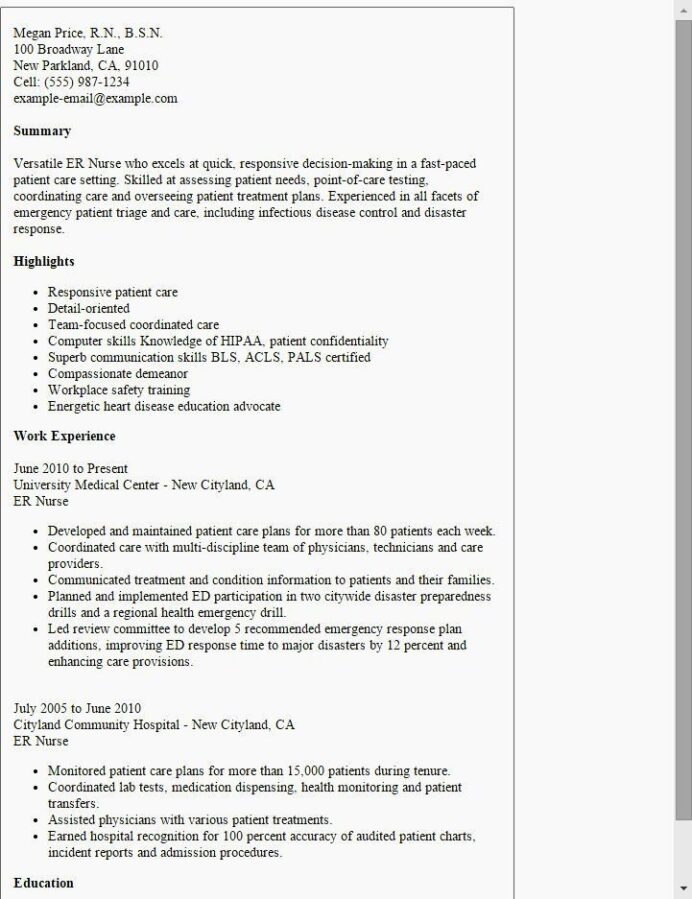 travel nurse resume examples free templates experience on of unique er template motocross Resume Free Motocross Resume Template