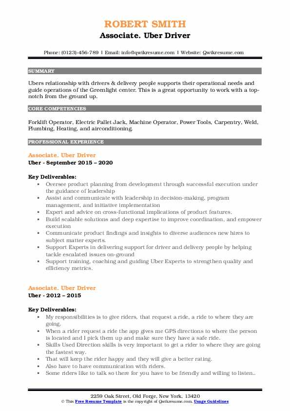uber driver resume samples qwikresume for pdf interactive udacity careerbuilder post Resume Resume For Uber Driver
