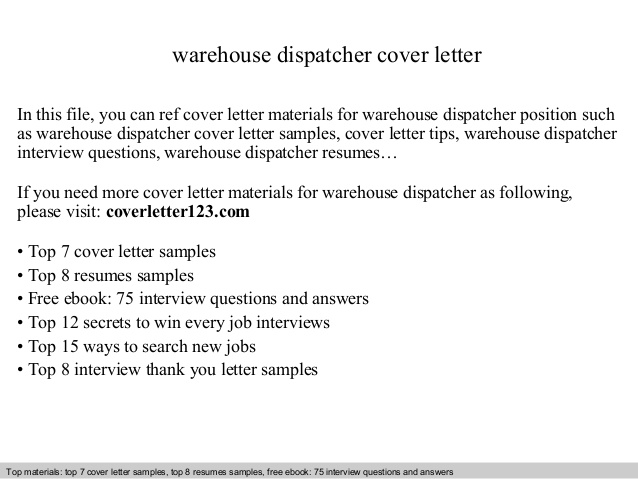 warehouse dispatcher cover letter resume for position indeed update office manager job Resume Resume For Dispatcher Position