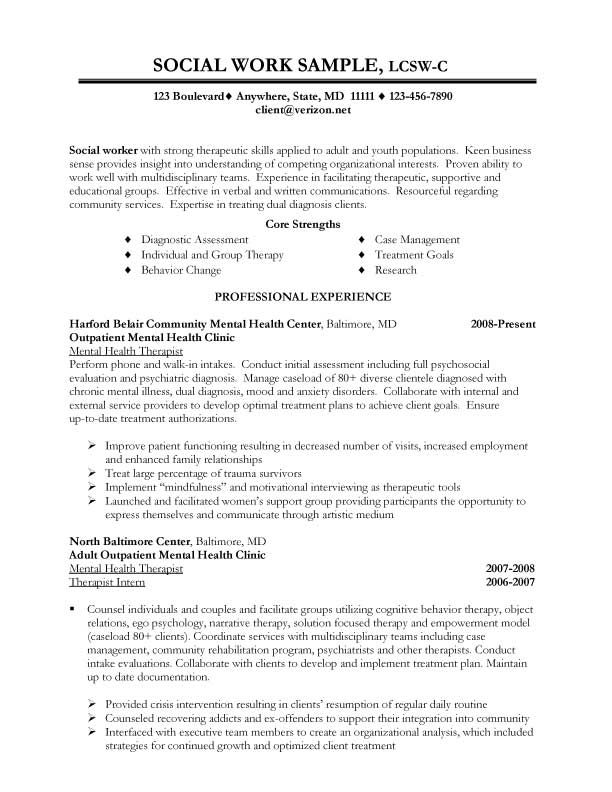 work resume examples skills cover letter for social worker summary cal poly military job Resume Social Worker Resume Summary