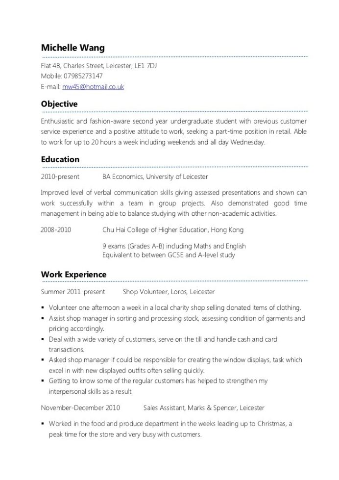 writing general resume first time examples best programming projects for cleaning Resume First Time Job Resume Examples