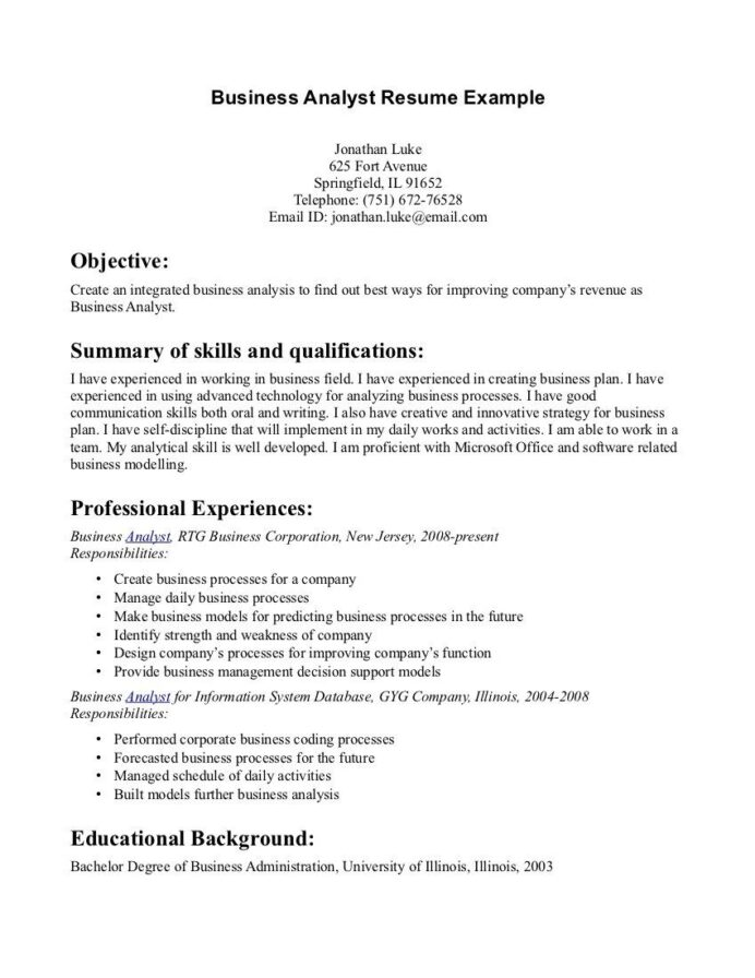 writing good resume objectives objective statement examples resumes example server Resume Resume Summary Examples For Server