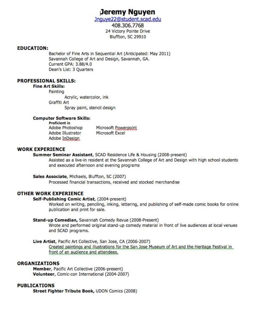 an effectively distributed résumé get interview unique to create resume build simple Resume Resume Builder For First Job
