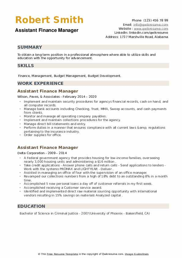 assistant finance manager resume samples qwikresume professional pdf the outsiders Resume Finance Professional Resume