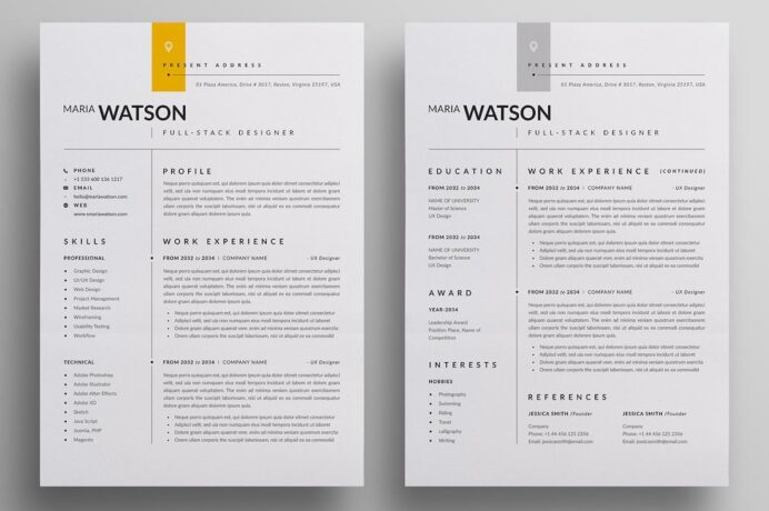 best free resume templates in and colorlib illustrator template cv machine learning Resume Free Resume Illustrator Template