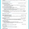 Best Biotechnology Resume