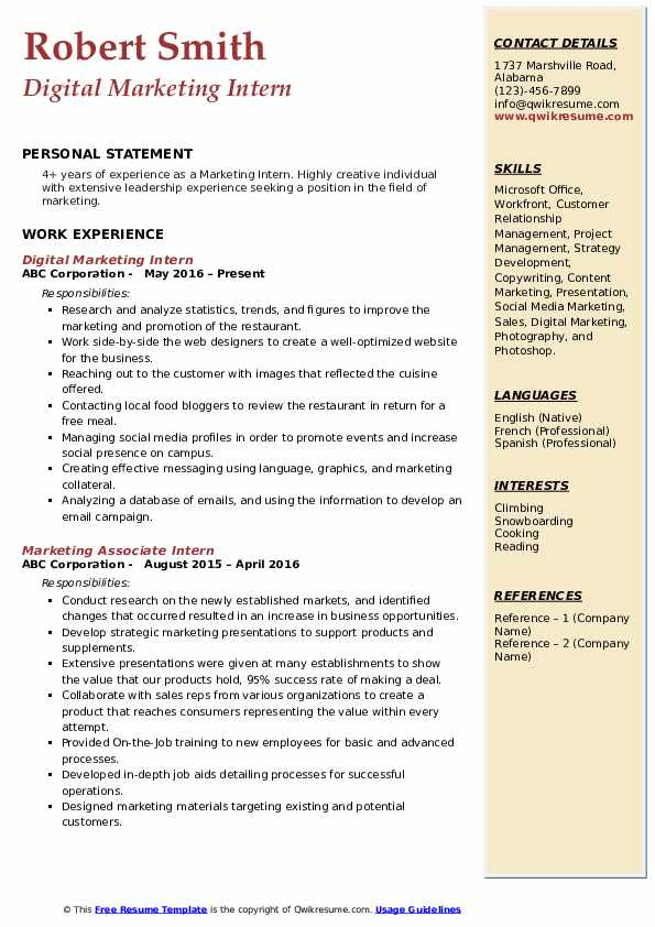 business administration resume sample positioning statement rest api analyst infographic Resume Resume Positioning Statement