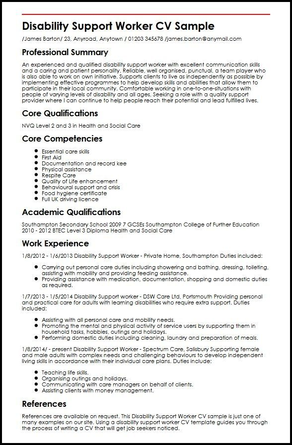 cv format youth worker sample customer service resume support job examples child and food Resume Child And Youth Worker Resume Sample