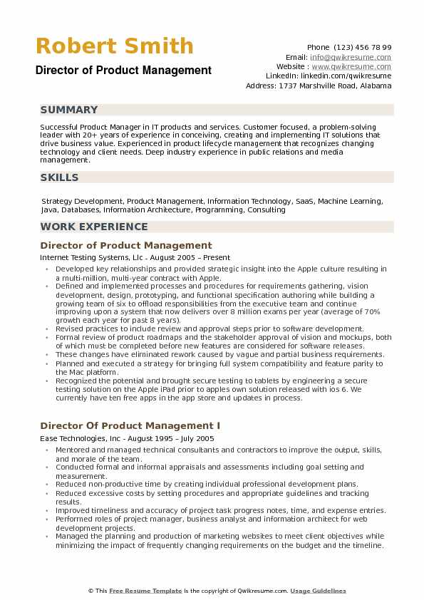 director of product management resume samples qwikresume pdf carlson school template hvac Resume Director Of Product Management Resume