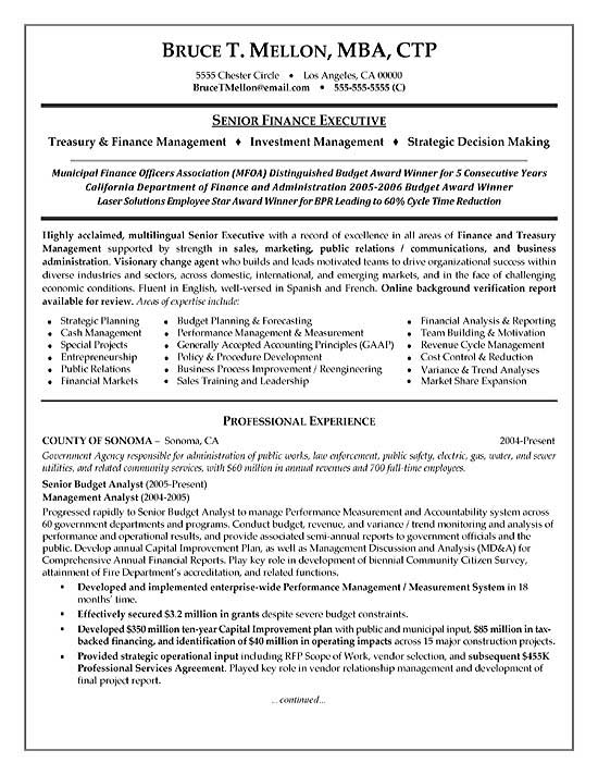 financial manager resume example finance professional exfi20a the perfect template good Resume Finance Professional Resume