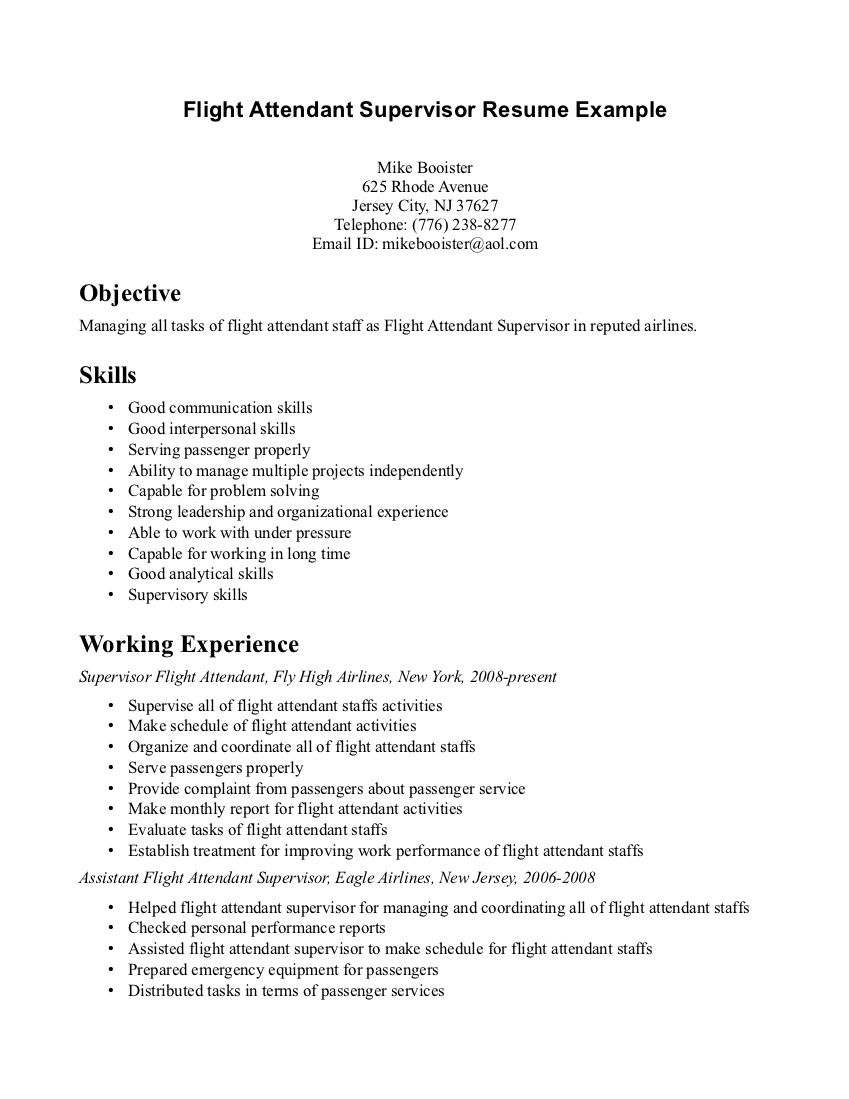 flight attendant resume no experience sample invoice free templates objective examples of Resume Objective Flight Attendant Resume