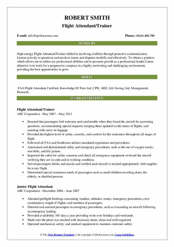 flight attendant resume samples qwikresume objective pdf writing tips compensation Resume Objective Flight Attendant Resume