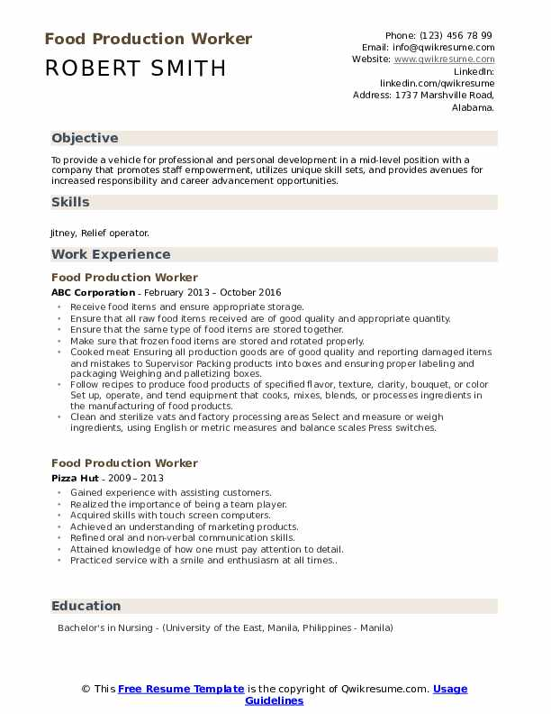 food production worker resume samples qwikresume unique skills for pdf retail template Resume Unique Skills For Resume