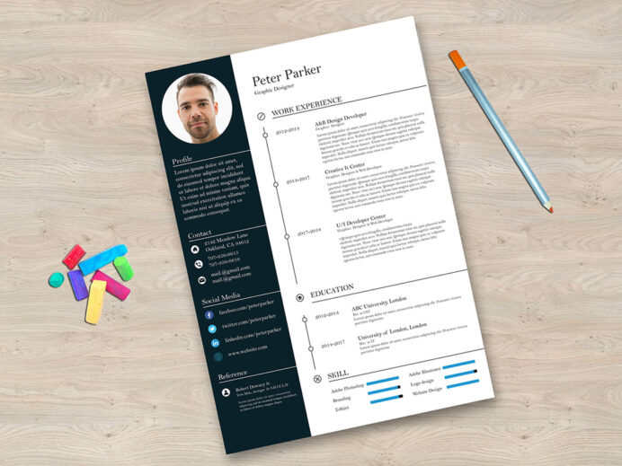 free editable illustrator cv template for any job opportunity resume current templates Resume Free Resume Illustrator Template