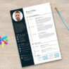 Free Resume Illustrator Template