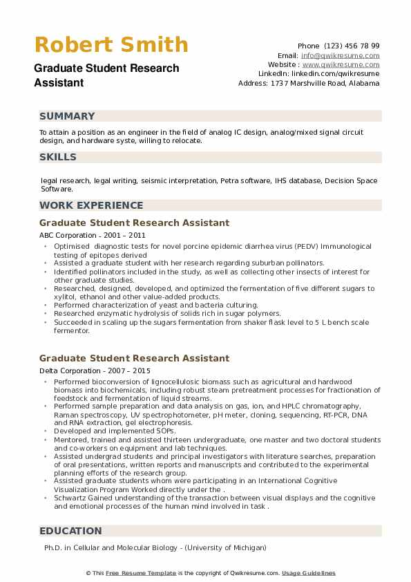 graduate student research assistant resume samples qwikresume pdf should you put gpa on Resume Student Research Assistant Resume