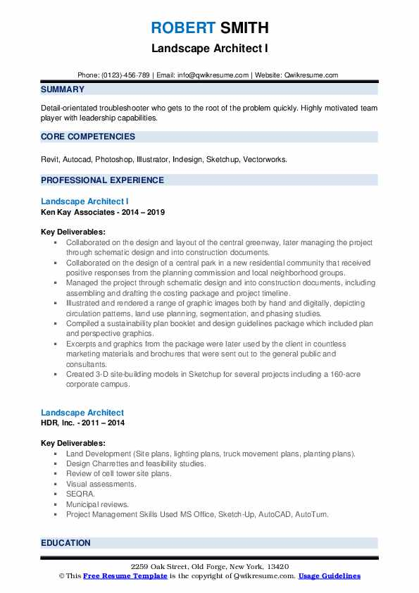 landscape architect resume samples qwikresume sample pdf restaurant examples entry level Resume Landscape Architect Resume Sample