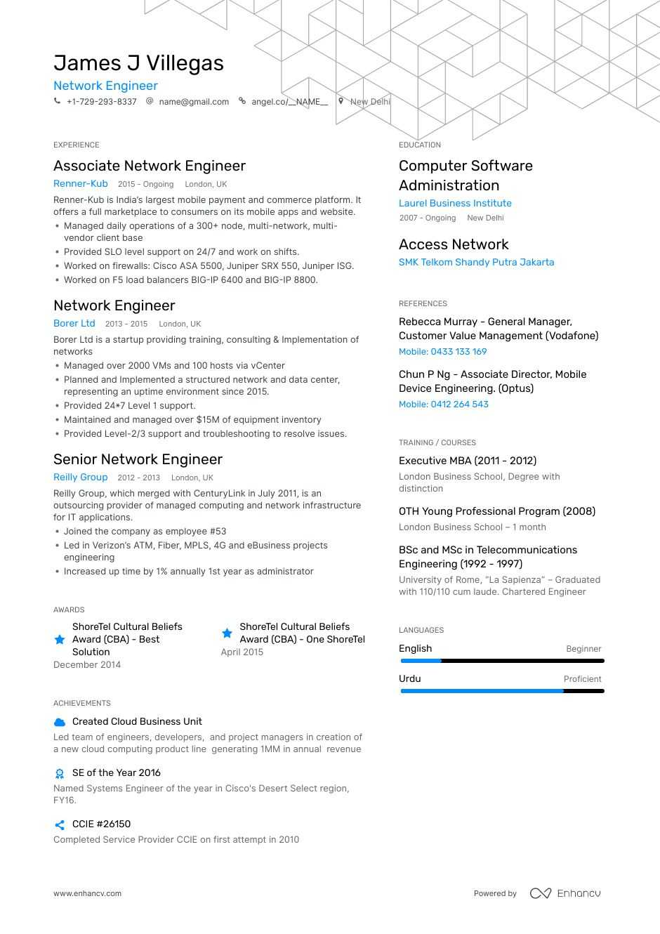 network engineer resume step ultimate guide for enhancv escalation public affairs Resume Escalation Engineer Resume