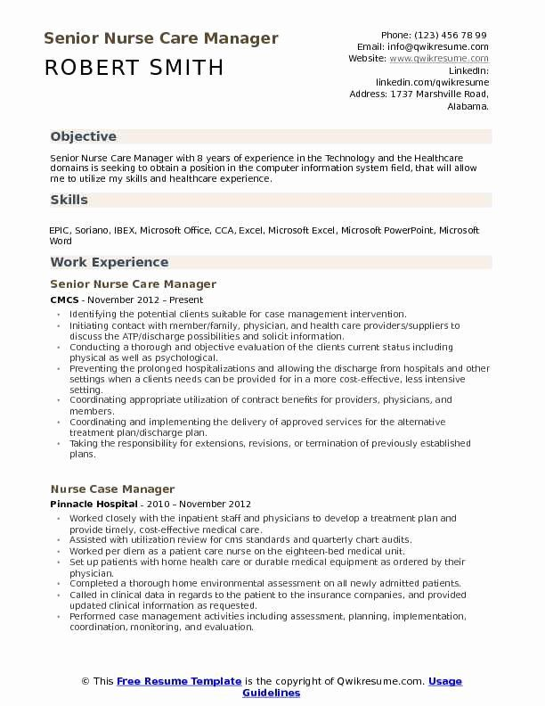 nurse manager resume objective of example beautiful care samples free templates statement Resume Objective Statement For Nurse Resume