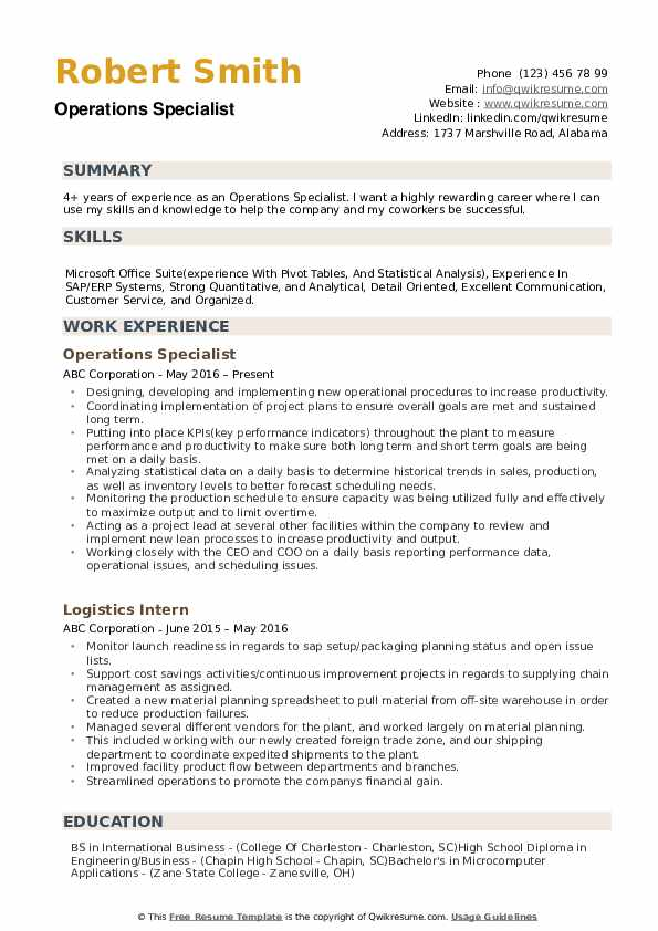 operations specialist resume samples qwikresume business pdf bloomberg market concepts Resume Bloomberg Market Concepts Certification Resume