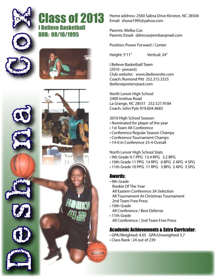 professional basketball player resume template april examples skills software engineer Resume Professional Basketball Player Resume Examples