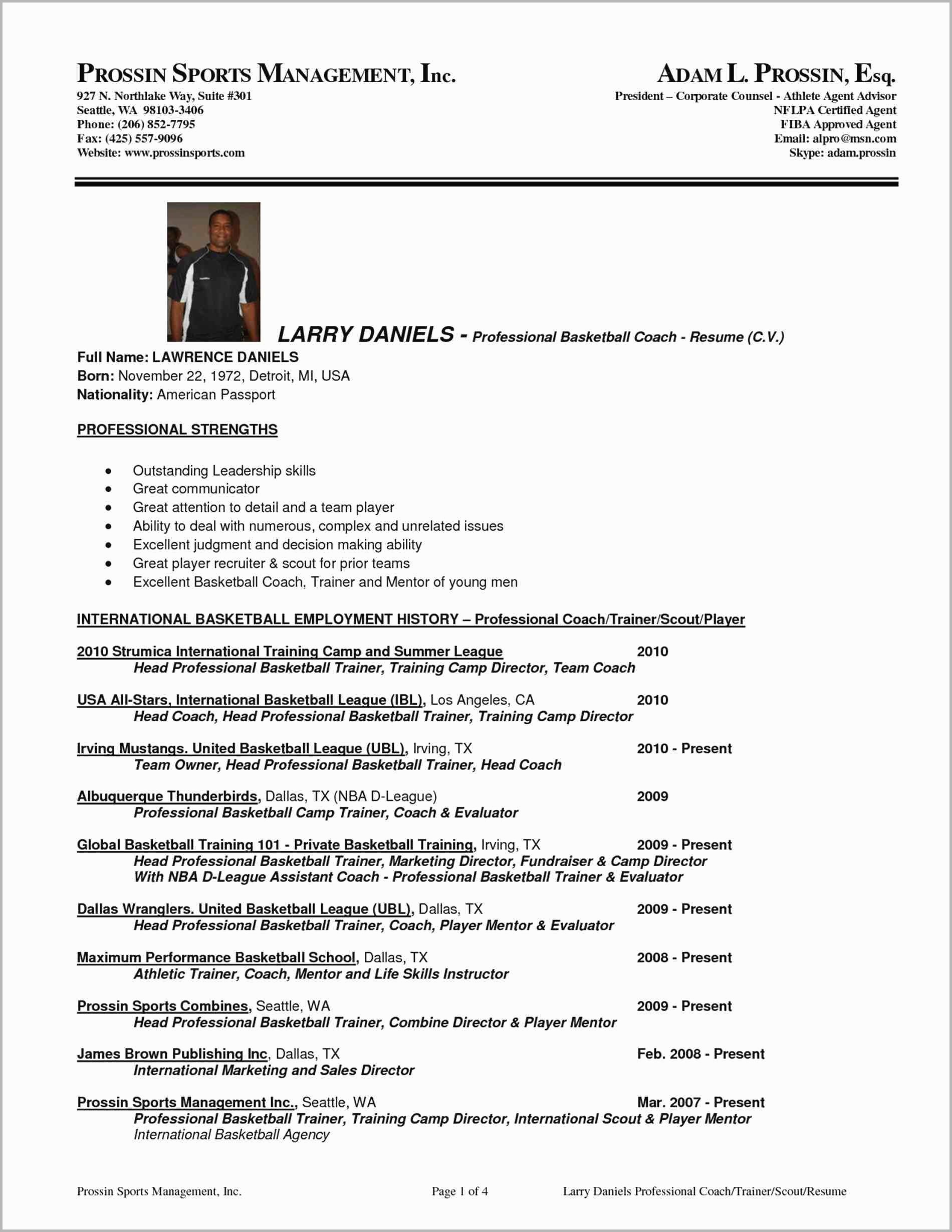 professional basketball player resume template april examples soccer free templates for Resume Professional Basketball Player Resume Examples