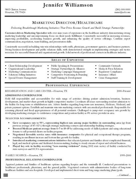 resume example in examples core competencies job admissions coordinator opening statement Resume Admissions Coordinator Resume