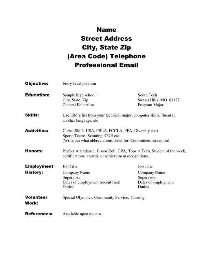 resume examples no work experience great lessons you can learn from wor high school Resume Skills For High School Resume