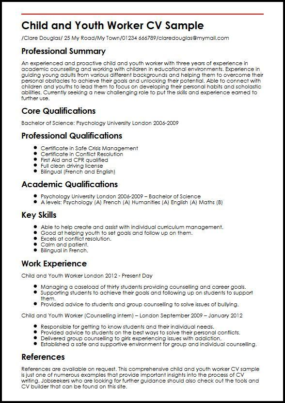 resume examples youth worker teacher child and sample holder for interviews junior hockey Resume Child And Youth Worker Resume Sample