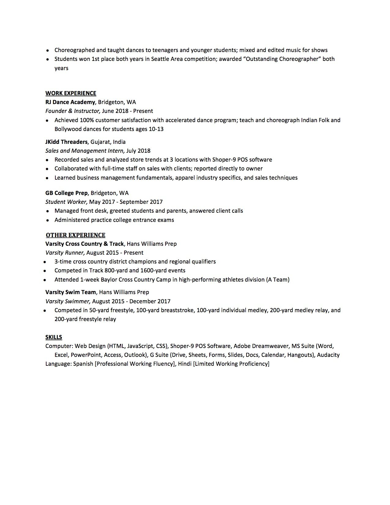resume high school to write the best one templates included no experience template Resume Skills For High School Resume