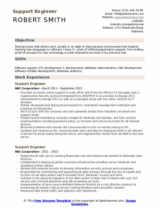 support engineer resume samples qwikresume escalation pdf second job examples esthetician Resume Escalation Engineer Resume