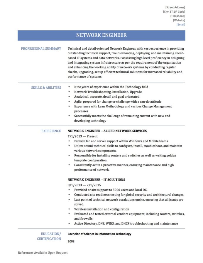 to write network engineer resume by builders medium escalation nidg7b3py0w sm4s facility Resume Escalation Engineer Resume