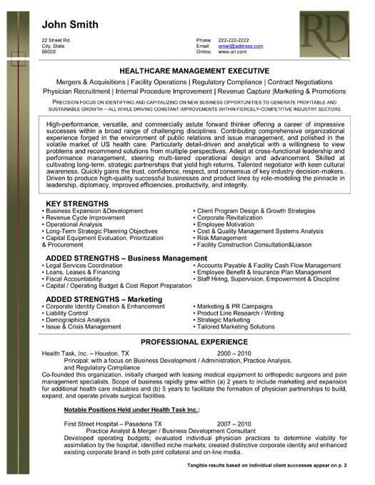 top biotechnology resume templates samples best executive health care management sample Resume Best Biotechnology Resume